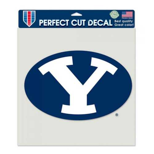 """Wincraft BYU Cougars 8""""x8"""" Perfect Cut Decal"""