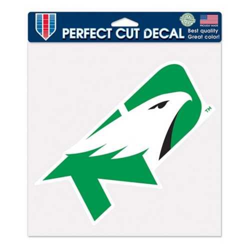 "Wincraft North Dakota Fighting Hawks 8""x8"" Perfect Cut Decal"