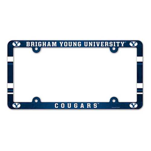 Wincraft BYU Cougars Plastic License Plate Frame