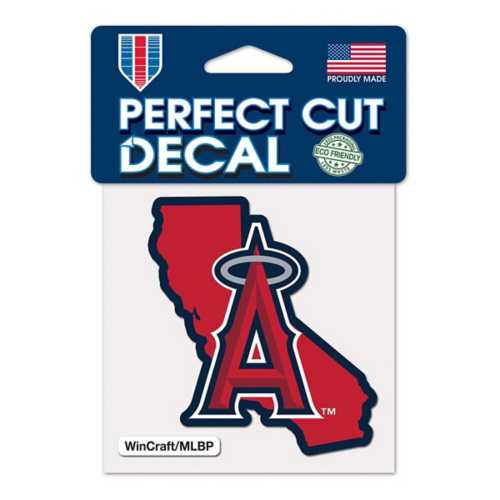 Wincraft Los Angeles Angels 4X4 Perfect Cut Decal