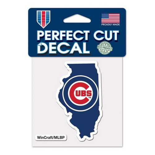 Wincraft Chicago Cubs 4X4 Perfect Cut Decal