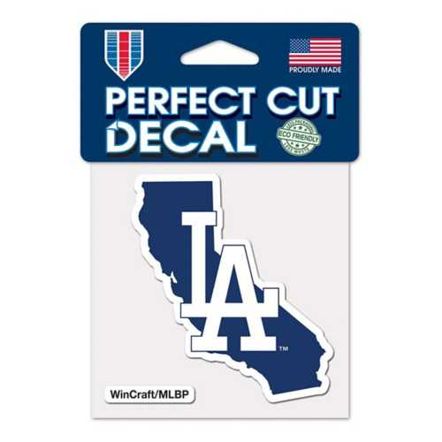 Wincraft Los Angeles Dodgers 4X4 Perfect Cut Decal