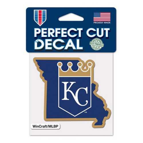 Wincraft Kansas City Royals 4X4 Perfect Cut Decal