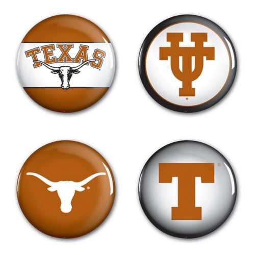 Wincraft Texas Longhorns 4 Pack Buttons