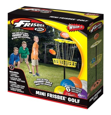 Wham-O Mini Golf Disc Goal Set