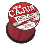 Zebco Cajun Low-Vis Ragin' Red Bulk Fishing Line