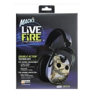 Mack's Live Fire Electronic Shooting Earmuffs