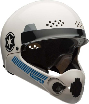 Youth Star Wars Storm Trooper Multisport Chinbar Helmet