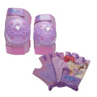Bell Sports Disney Princess Pad and Glove Set