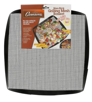 Cameron's Products Non-Stick Mesh Grilling Basket' data-lgimg='{