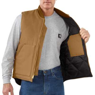Men's Carhartt Duck Arctic Quilt Lined Vest