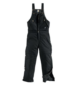 Men's Carhartt Yukon Extremes® Zip-To-Waist Biberall/Arctic Quilt Lined