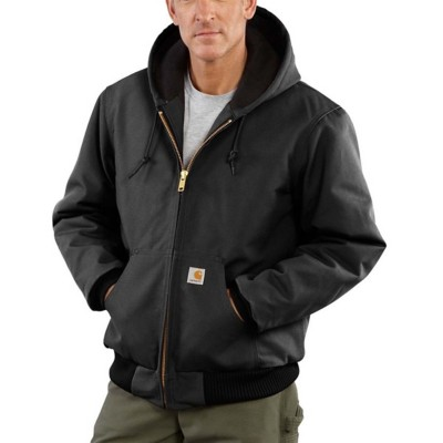 Men's Carhartt Duck Quilted Flanned Lined Active Jacket