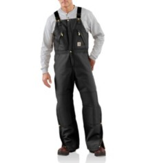 Men's Carhartt Duck Zip-to-Hip Bib