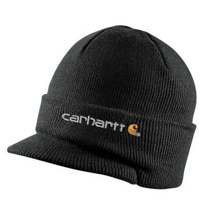 Adult Carhartt Winter Knit Hat With Visor