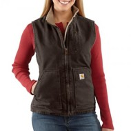 Women's Carhartt Sandstone Mock Neck Vest