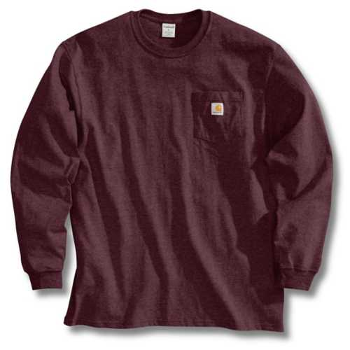 Men's Carhartt Long Sleeve Pocket Tee