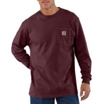 Men's Carhartt Workwear Long-Sleeve Pocket Shirt