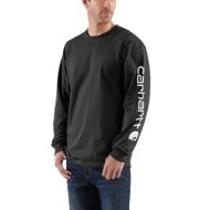 Men's Carhartt Long-Sleeve Graphic Logo Shirt