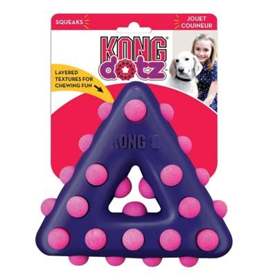 Kong Dotz Triangle Dog Toy' data-lgimg='{