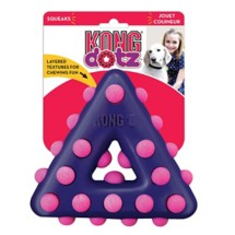Kong Dotz Triangle Dog Toy