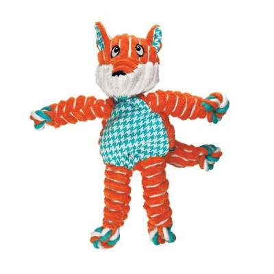 Kong Floppy Knot Fox Dog Toy' data-lgimg='{