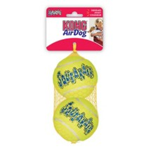 Kong Large Squeaker Ball Dog Toy 2-Pack