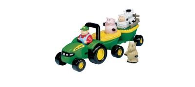 Ertl Joh Deere Animal Sounds Hay Ride Toy