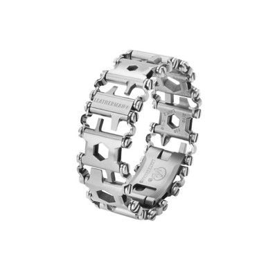 Leatherman Tread Multi-Tool Stainless Bracelet' data-lgimg='{