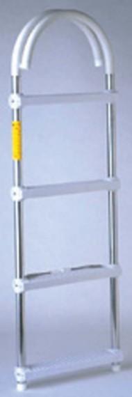 """Garelick 11"""" 3 Step Hook Ladder"""