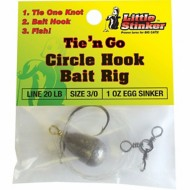 Little Stinker Tie 'N Go Circle Hook Bait Rig