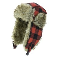 Grade School Jacob Ash Plaid Bomber Hat