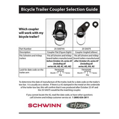 InStep AngledBicycle Trailer Coupler SA075