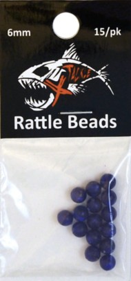X-Treme Tackle Rattle Bead 15 Pack