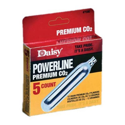 Daisy PowerLine 5 Pack CO2 Cylinders' data-lgimg='{