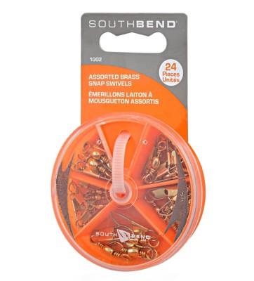 South Bend Brass Snap Swivel Assortment Pack