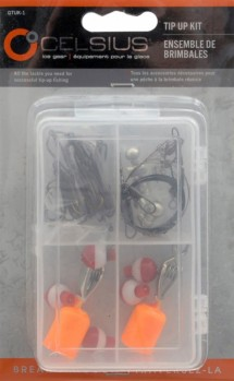 Celsius Ice Fishing Tip Up Kit