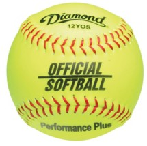 Diamond Official Fast Pitch Softballs with Bucket