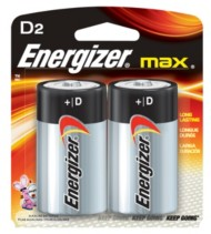 Energizer MAX D Battery