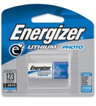Energizer 3V 123 Lithium Battery