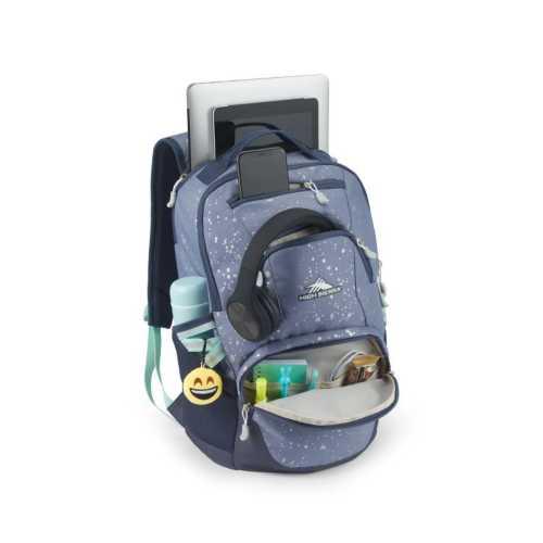 High Sierra Splatter Swoop Backpack