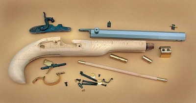 Traditions .50 Cal Kentucky Percussion Pistol Kit