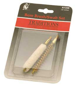 Traditions Muzzleloading .50 Caliber Bore Brush and Swab Set' data-lgimg='{