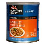 Moutain House Spaghetti with Meat Sauce Entrée