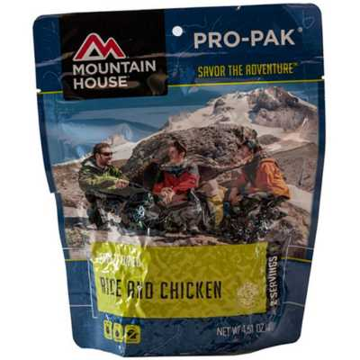 Mountain House Rice and Chicken Pro-Pak Entrée