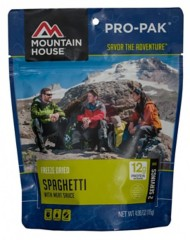 Mountain House Spaghetti with Meat Sauce  Pro-Pak Entrée