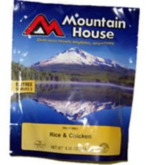 Mountain House Rice and Chicken Entree