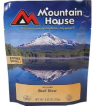 Mountain House Hearty Stew with Beef Entree