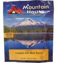 Mountain House Lasagna and Meat Sauce Entree