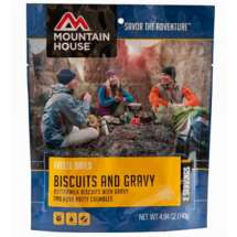 Mountain House Biscuits and Gravy Pouch Pouch Entrée